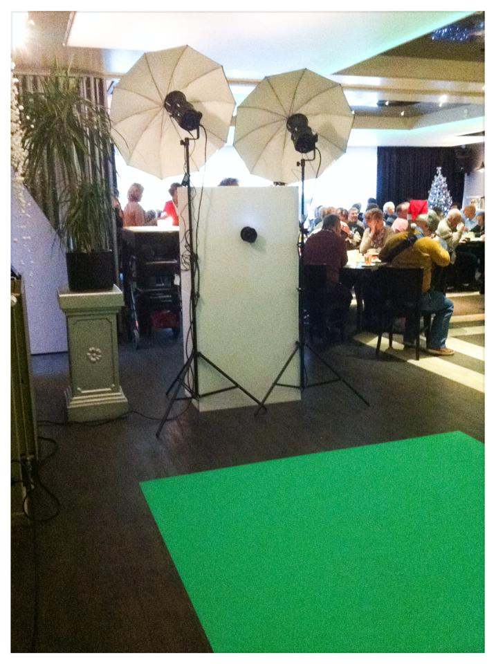 Green screen huren Amsterdam