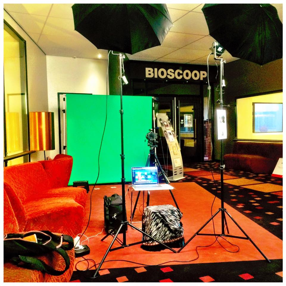 green screen bioscoop