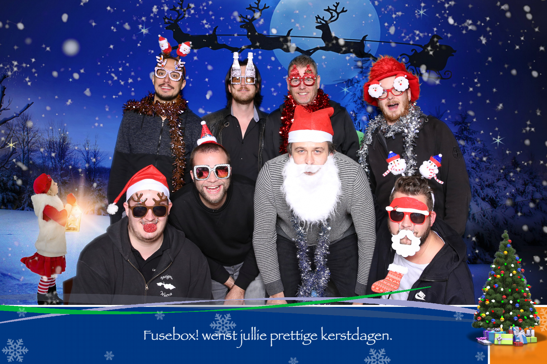 kerst photobooth