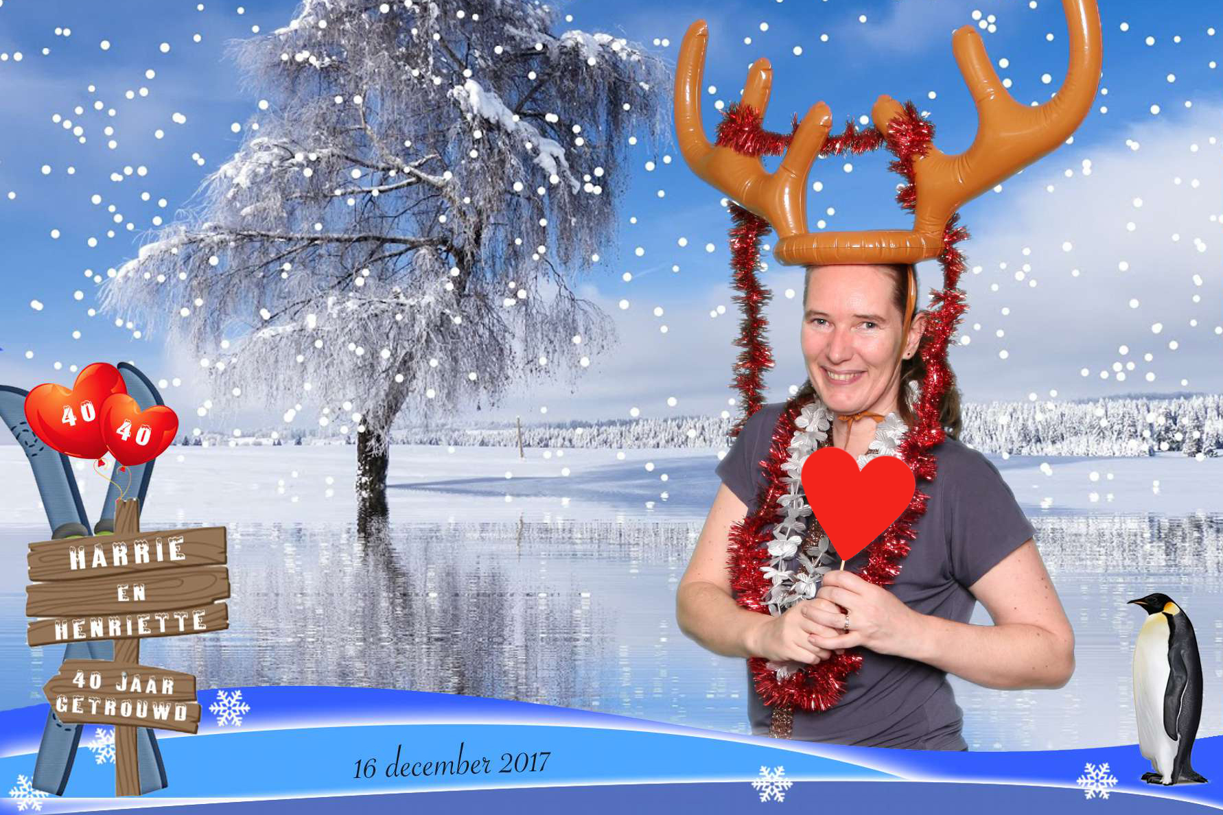 Green screen kerst