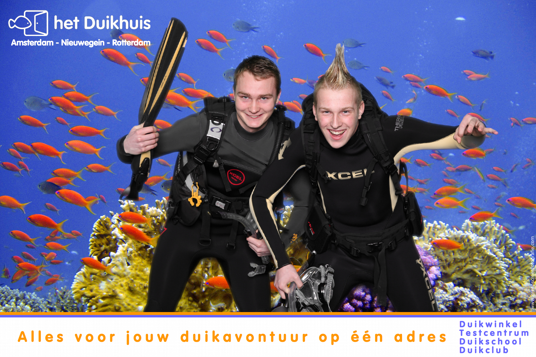fotofun, marketing, beurs, greenscreen