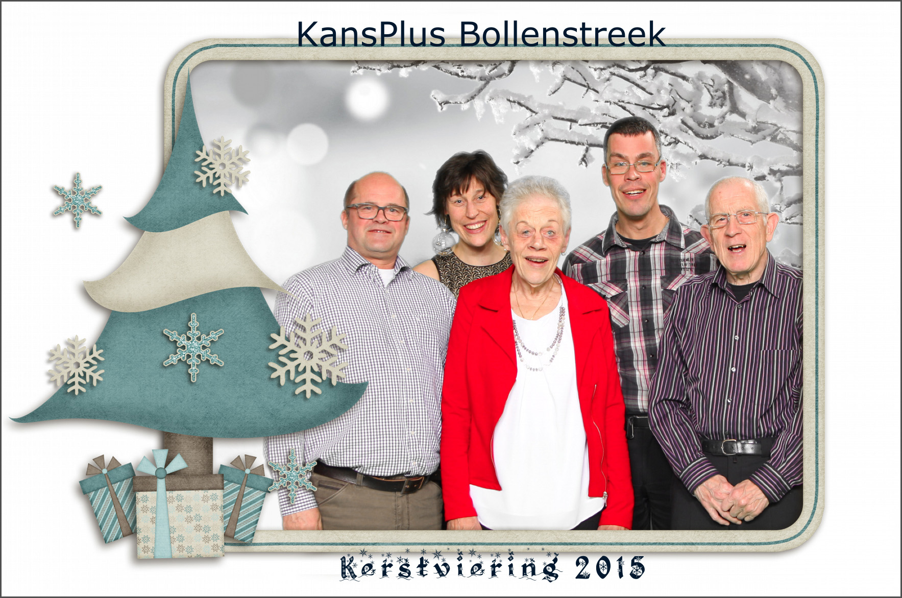kerst Photo Booth