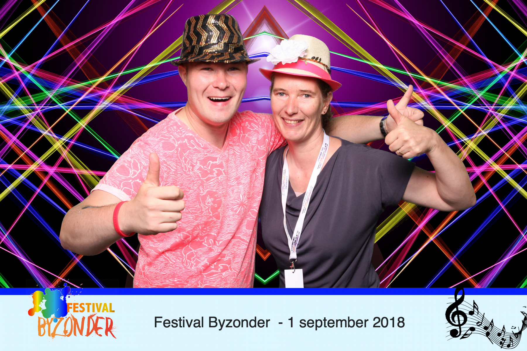 Festival event photo booth