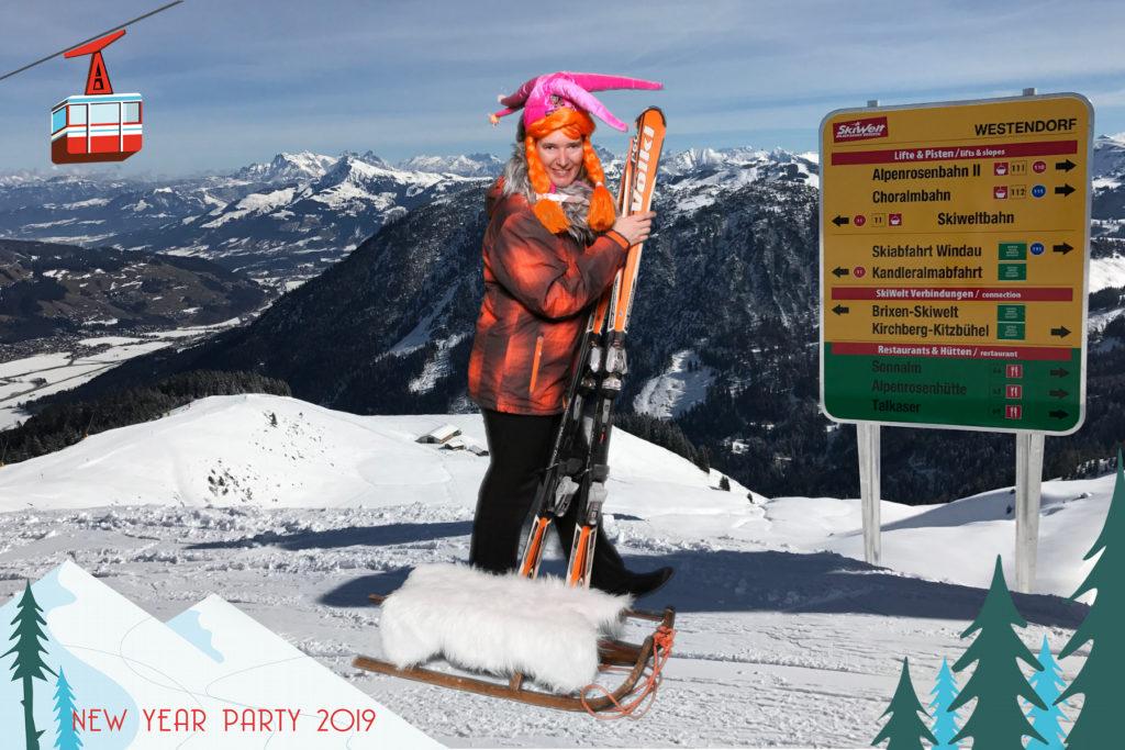 après ski party greenscreen