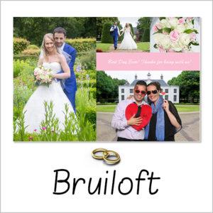 bruiloft fotobooth